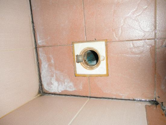 Siam Hotel: drain under the sink had no cover: an invitation for roaches and other critters