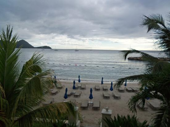 The Landings St. Lucia: View from the balcony
