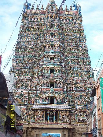 ‪مادوراي, الهند: The Great Meenaksi Mandir (Madurai)‬