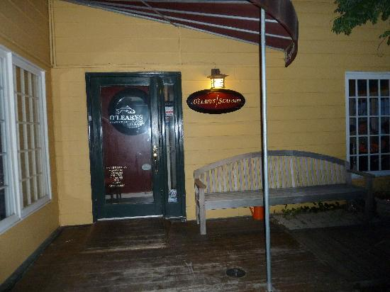 The Annapolis Inn: Great restaurant for seafood