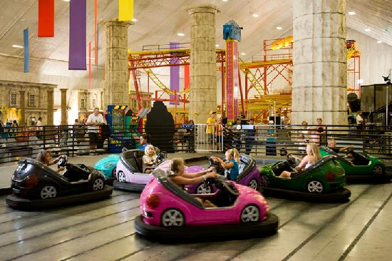 Mt. Olympus Resort: The Parthenon Indoor Theme Park - Bumper Cars