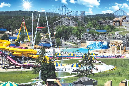 Mt. Olympus Resort: Mt. Olympus Water & Theme Park