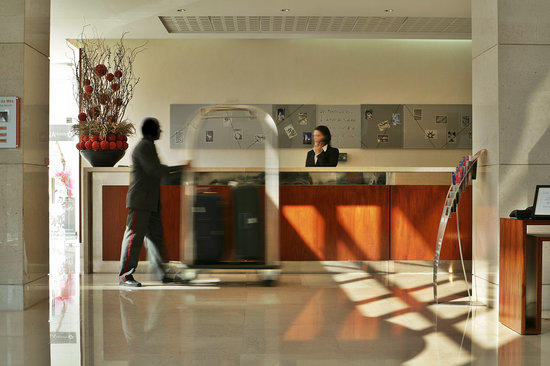 SANA Lisboa Hotel : Lobby 