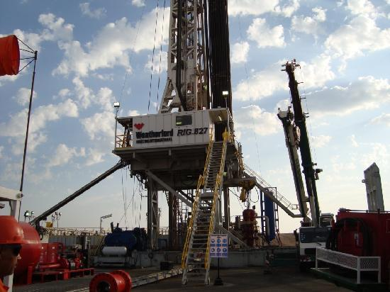 Bahrain: our rig
