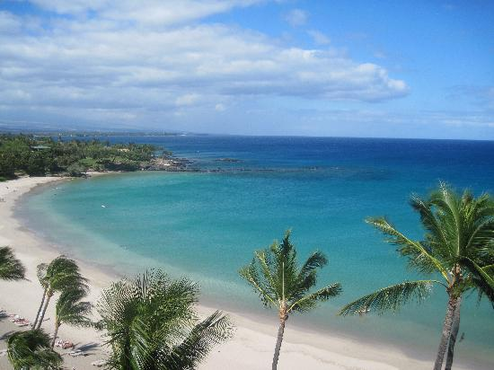 Mauna Kea Beach Hotel: View from Lanai Room 808