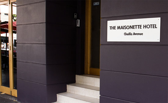 The Maisonette Hotel: Welcome