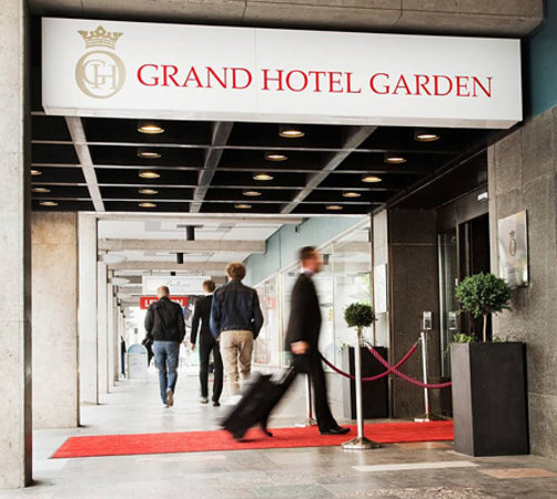 Grand Hotel Garden: We have laid out the red carpet for you!