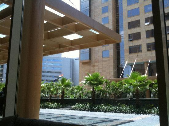 Hyatt Regency Pune: View from the lobby