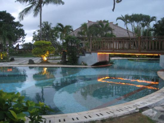 Sekar Nusa Villas: 1 of 2 pool areas