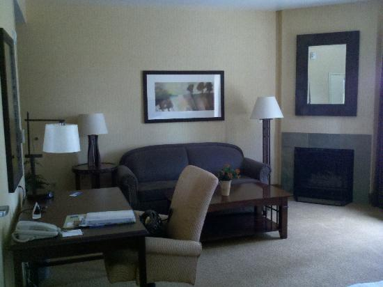 Hampton Inn & Suites Tahoe - Truckee: My sweet suite