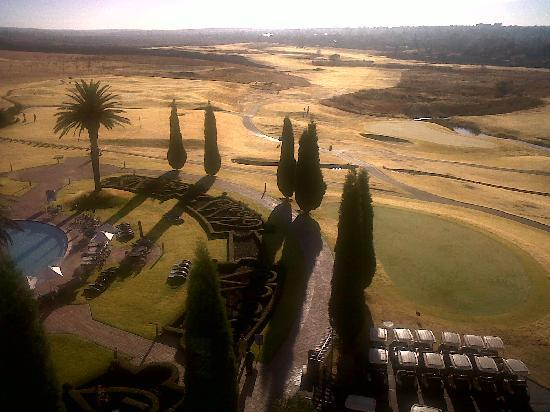 Secunda, South Africa: view from the back of the hotel