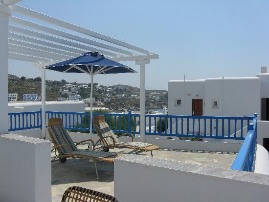 Petasos Beach Hotel & Spa: Our balcony