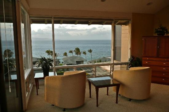 Kapalua, HI: great view from bedroom