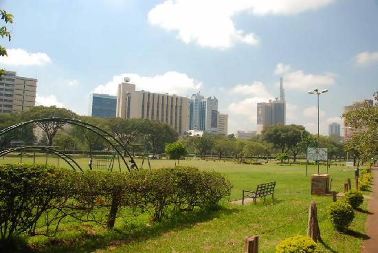 Central Park: View of the city