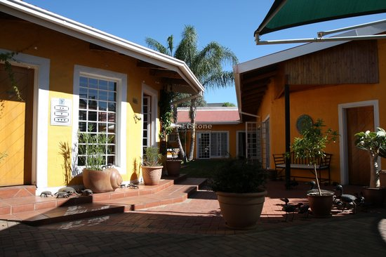 Windhoek, Namibia: Innenhof