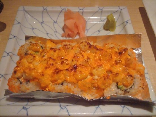 Volcano Roll - Picture of Yanagi Sushi, Honolulu - TripAdvisor