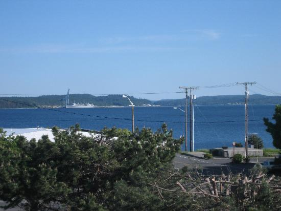 Port Townsend Inn: View from Room