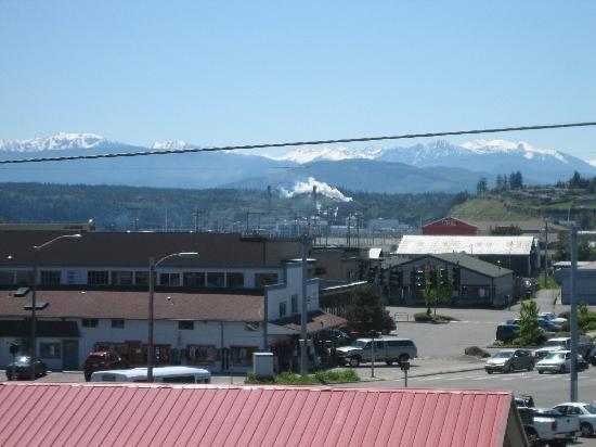 Port Townsend Inn: View from Hotel (outside room)
