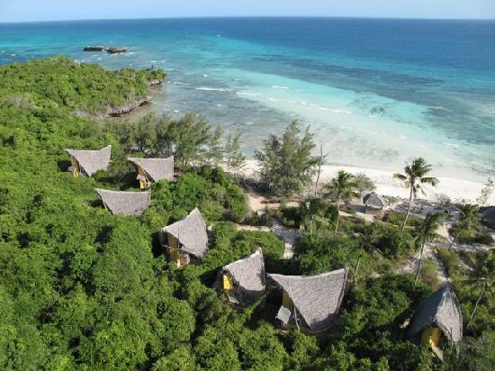 Chumbe Island Coral Park: Eco-houses to stay in