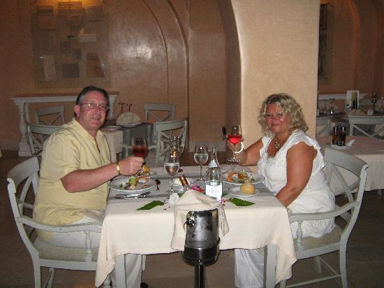 Iberostar Royal El Mansour: Birthday dinner at the a la carte restaurant