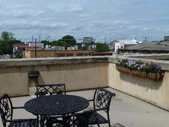 French Quarter Inn: Private balcony