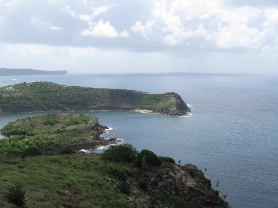 Saint Philip, Antigua: View from Blockhouse (Eric Clapton's house)