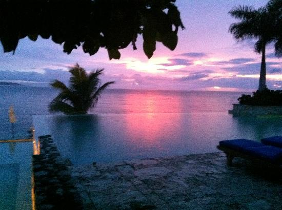 Hopewell, Jamaica: End to a perfect day