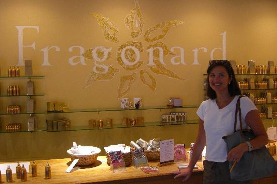 Grasse, Francia: Fragonard shop
