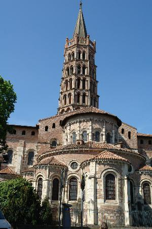 Toulouse, Frankrig: St Sernin