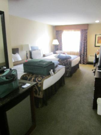 Great Falls, MT : may be blurry, but camera had broke. Great room!