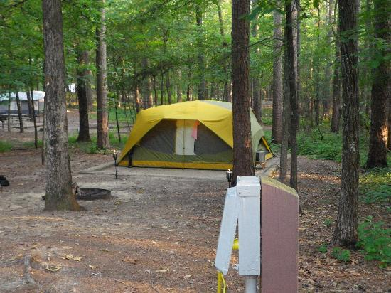 Bismarck, AR: Lake Degray State Park campgrounds