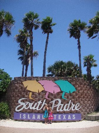 South Padre Island, TX: The SPI sign