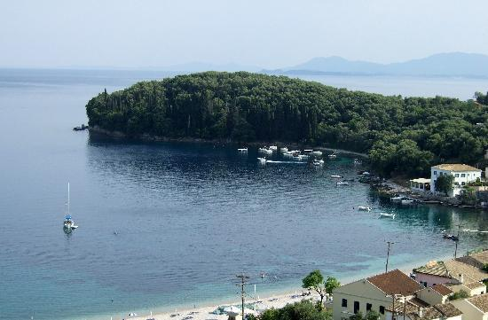 Kalami, Greece: View from our room at Adonis Asonitis