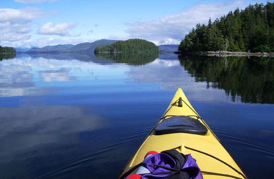 Kayaking in Sitka
