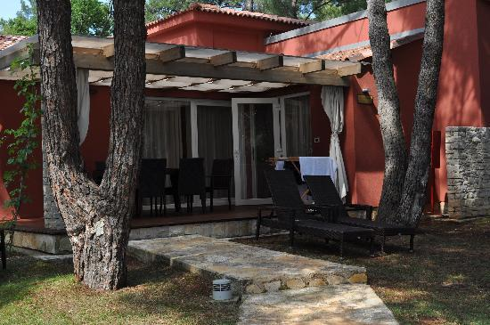 Umag, Kroasia: Villa mit Whirlpool