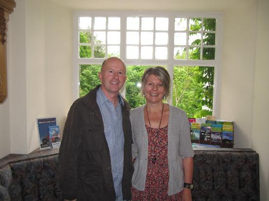Grizedale Lodge's new owners, Richard and Deb Charley