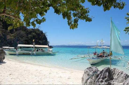 Coron, Philippines: Banol Beach