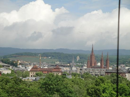 Dorint Pallas Wiesbaden: View from the room