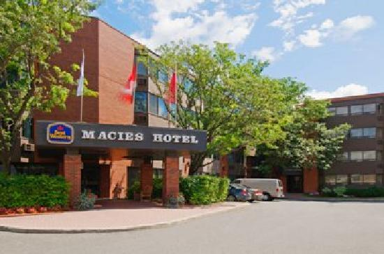 BEST WESTERN PLUS Macies Hotel: Front Entrance