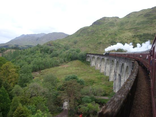 Natural Retreats West Highlands: Harry Potter Train