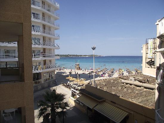 View From Balcony Picture Of Apartments Arcos Playa S
