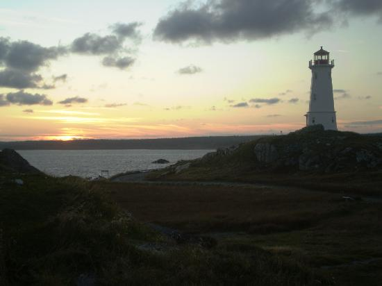 Louisbourg, : Lighthouse view