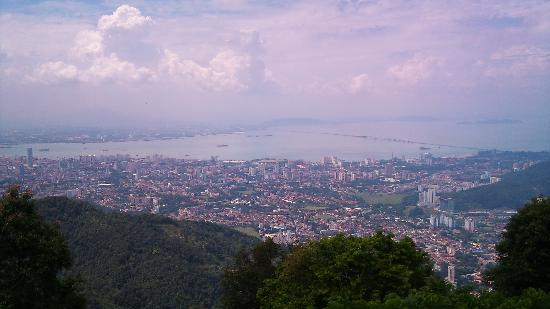 Penang Hill: Hilltop view