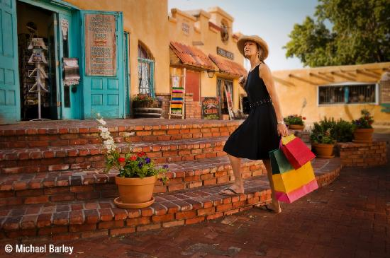 Albuquerque, NM: Old Town Shopping