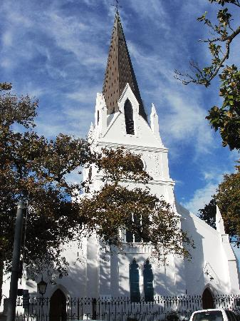 Garden Route, South Africa: Church at stellenbosch