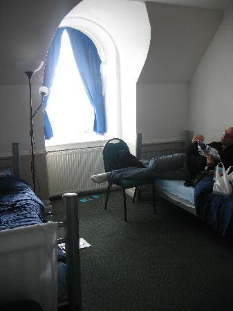 Glasgow Youth Hostel: La chambre