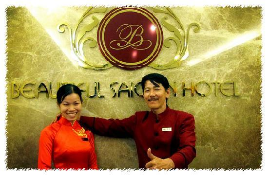 Beautiful Saigon Hotel: Friendly staff