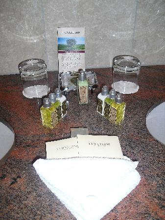 Schlosshotel Lerbach: Luxury Toiletries