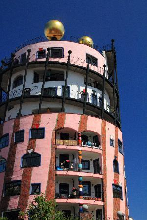 Magdeburg, Germania: Hundertwasser Haus