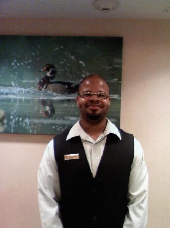 Homewood Suites by Hilton Chattanooga/Hamilton Place: SULLIVAN KEARNEY DESK CLERK